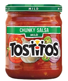 AMAZON: Tostitos, Chunky Salsa Mild, 15.5 oz