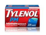 WALMART: Tylenol PM Extra Strength Pain Reliever & Sleep Aid Caplets, 225 ct $33.60