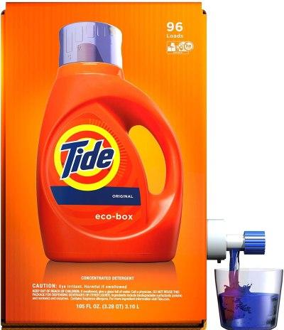 AMAZON: Tide Laundry Detergent Liquid Eco-Box, JUST $17.99 (REG $21.99)