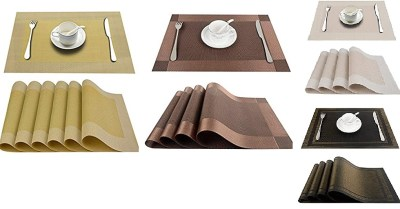 AMAZON: Top Finel Placemats for Dining Table, PVC Table Mats Set of 4, Place Mats $5.2 ($13)