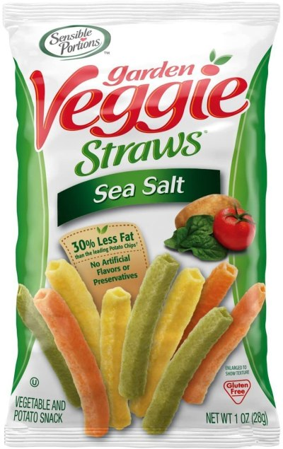 AMAZON: Sensible Portions Garden Veggie Straws 24-Pack Now $14.25 (Was $23.76)