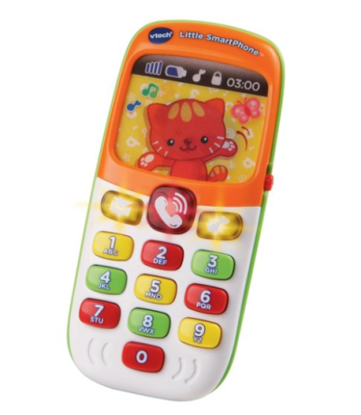 WALMART: VTech Little SmartPhone, Teaches Numbers and Colors for $7.97 + Free Store Pickup! (Reg. Price $9.97)