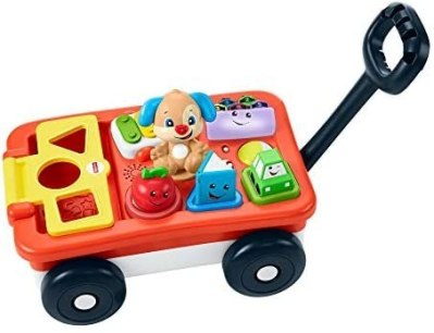 BEST BUY: Fisher-Price Laugh & Learn Pull And Play Learning Wagon For $21.99 (Was $39.99)