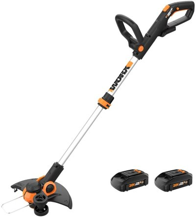 """AMAZON: WORX WG163 GT 3.0 20V PowerShare 12"""" Cordless String Trimmer & Edger, 12in, AWESOME PRICE!"""
