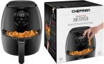BEST BUY: Chefman 3.7-Qt Digital Air Fryer for JUST $49 + FREE Shipping (Reg $80) – TODAY ONLY!