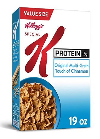 AMAZON: Kellogg's Special K Breakfast Cereal $2.72