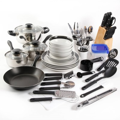 WALMART: Gibson Home Kitchen In A Box 83-Piece Combo Set For $64.70 (Was $70)