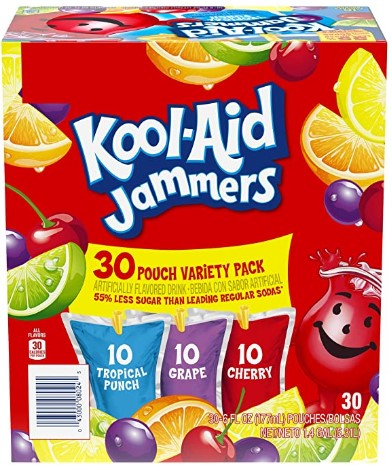 AMAZON: Kool-Aid Jammers Variety Pack 30 - 6 oz Pouches – PRICE DROP!
