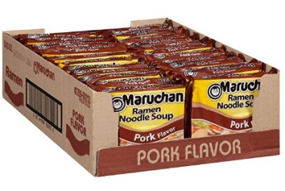 AMAZON: 24 Count Maruchan Ramen Pork Flavor, 3.0 Oz