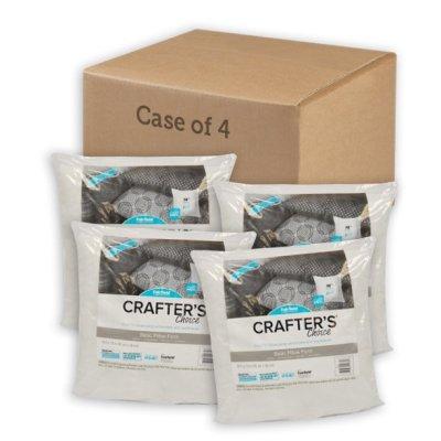 """WALMART: Fairfield Crafter's Choice 4 Pack Pillow Insert - 18"""" x 18"""" $19.94"""