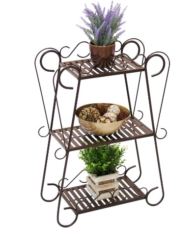 BEST CHOICE: 3-Shelf Plant Stand - Bronze JUST $45.99 ($75.99) + FREE Shipping