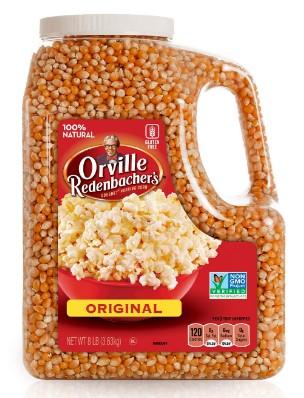 AMAZON: Orville Redenbacher's Gourmet Popcorn Kernels, Original Yellow, 8 lb $11.49