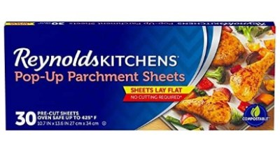 Amazon: Reynolds Kitchens Pop-Up Parchment Paper Sheets, 30Ct ONLY $1.99