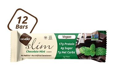 AMAZON: 12 Count NuGo Slim Dark Chocolate Mint Vegan Protein Bars ONLY $10.39