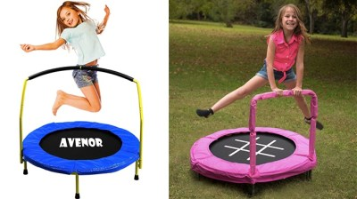 WALMART: Kids' Small Trampolines Starting at ONLY $59 + FREE Shipping (Regularly $80)