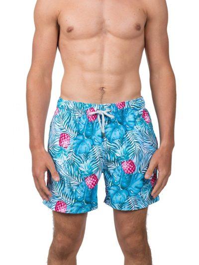 WALMART: Endless Summer Men's 6″ Tropical Swim Short For $17 (Was $40)