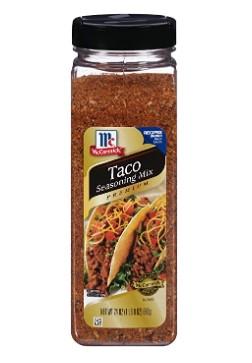 AMAZON: McCormick Premium Taco Seasoning Mix, 24 Oz $6.47