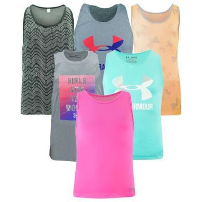 PROOZY: Under Armour Girl's Mystery Tank Top For $9.99 + FREE Shipping