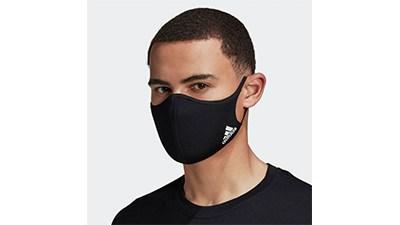 ADIDAS: 3-Pack Adidas Face Masks $16