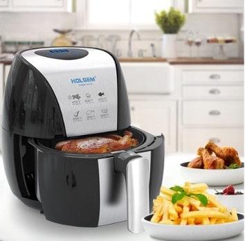 Woot: Holsem 3.5 QT Digital Air Fryer ONLY $49.99 (Reg $80)