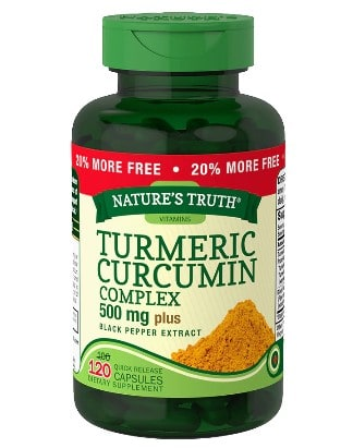 Walgreens: Turmeric Curcumin Plus Black Pepper Extract For $14.79
