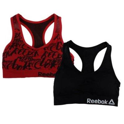 Proozy: Reebok Women's Racer Back Bralette w/ Cutouts 2-Pack $14.99 (Reg $59.95)