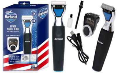 BEST BUY: Barbasol Electric Shaver with Beard Trimmer ONLY $24.99 (Regularly $40) – Today Only!
