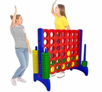 WOOT: Giant 4 in a Row Connect Game – 4 Feet Wide by 3.5 Feet Tall Oversized Floor Activity $129.99 (Reg $164.99)