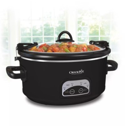 Target: Crock-Pot 6qt Programmable Cook & Carry Slow Cooker For ONLY $39.99