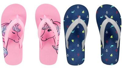 CARTER'S: Unicorn and Beach Flip Flops ONLY $4 (Regularly $8)