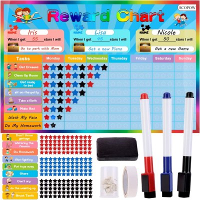 AMAZON: Chore Charts, Behavior Chart for Kids at Home, use code 403GEQFW + clip high value coupon to SAVE!!