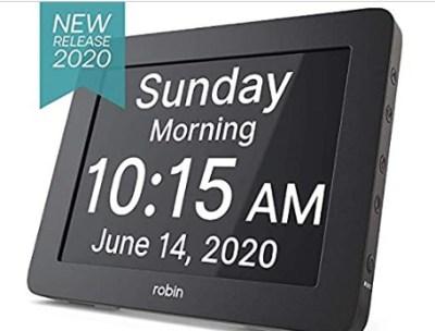 Woot : Robin, 2020 Version, Digital Day Clock 2.0 $42.99 (Reg. $59.95)