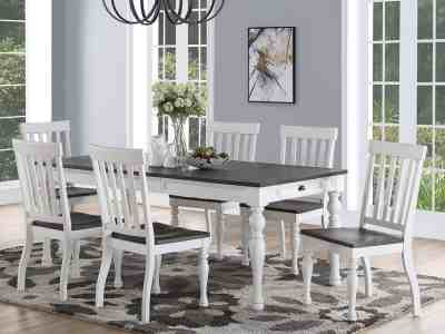 Sam's Club: Jaiden Two Tone Dining Set, 7 Pc. for $649 ($999) Shipped!