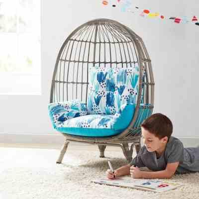 SAM'S CLUB: Member's Mark Kids' Egg Chair – Choose Your Color For $149.81 (Reg. $199.98)