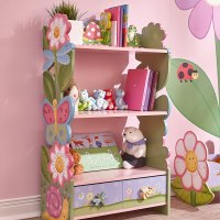 AMAZON: Fantasy Fields - Magic Garden Wooden 3 Shelves Kids Bookcase with Drawer Storage – PRICE DROP!