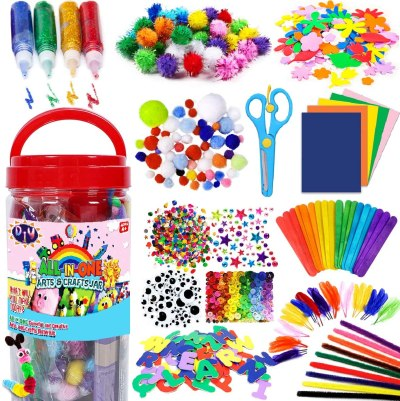 AMAZON: FunzBo Arts and Crafts Supplies for Kids - Craft Art Supply Kit, JUST $14.98 (REG $24.98)