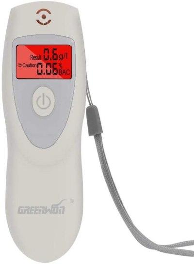 AMAZON: GREENWON Breathalyzer, Non-Contact Breathalyzer, Alcohol Tester, JUST 80% off code 80BLKWPQ