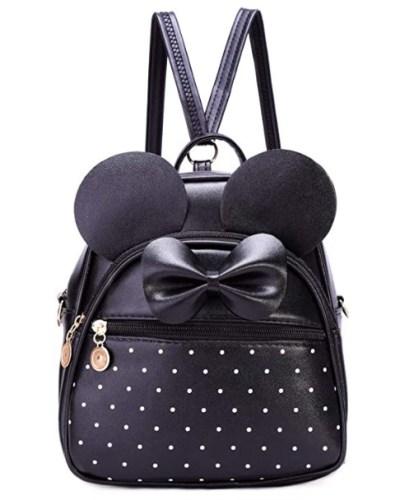 AMAZON: Girls Bowknot Polka Dot Cute Mini Backpack, $13.79 WITH CODE 40WXLJ5T