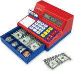 AMAZON: HearthSong Pretend and Play Calculator Cash Register, JUST $25.99 (REG $39.99)