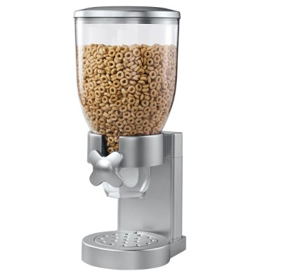 AMAZON: Indispensable Dry Food Dispenser, Single Control for $14.59 Shipped! (Reg. Price $24.99)