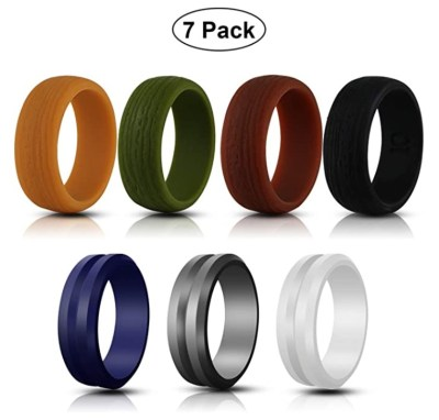 AMAZON: Jornarshar Silicone Rings for Men- 7 Pack, JUST $8.49 WITH CODE 502XHNK6