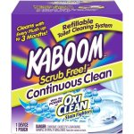 WALMART: Kaboom Scrub Free! Continuous Clean Toilet Cleaning 1CT System For $13 (Was 430) + FREE Shipping