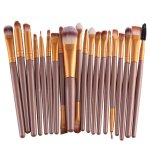 AMAZON: Set of 20pcs Cosmetic Makeup Brushes Set, JUST $6.99