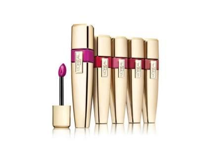 UNTIL GONE: L'Oreal Colour Riche Caresse Wet Shine Lip Stain (3-Pack) $9.99 (Reg $45.99)
