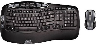 Staples: Logitech Wireless Desktop Wave Keyboard And Laser Mouse Combo For $51.49