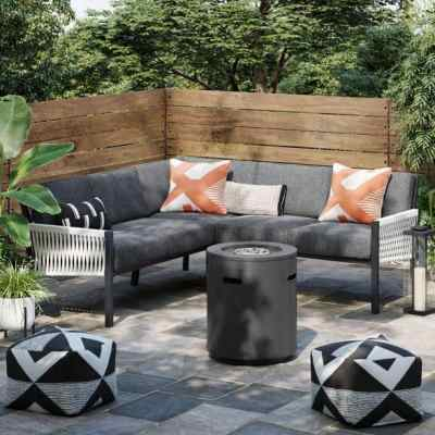 Target: Lunding 3pc Patio Sectional Charcoal For $375 (Reg. $750) + Free Shipping