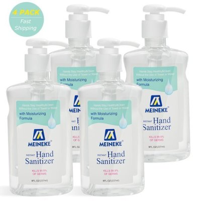 WALMART: 4-Pk 8 Oz. Advanced Hand Sanitizer Gel For $18.99 + Free Shipping