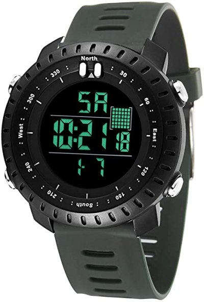AMAZON: Men's Digital Sports Watch for $6.30 Shipped! (Reg.Price $20.99)