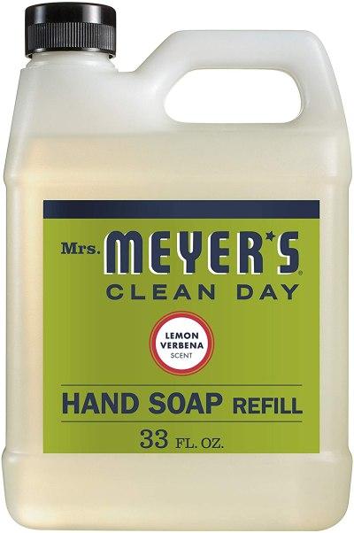 AMAZON: Mrs. Meyer's Clean Day Liquid Hand Soap Refill