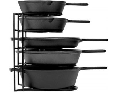 Woot: Cuisinel 5-Tier 12.2-Inch Heavy Duty Pan Organizer ONLY $19.99 (Reg $30)